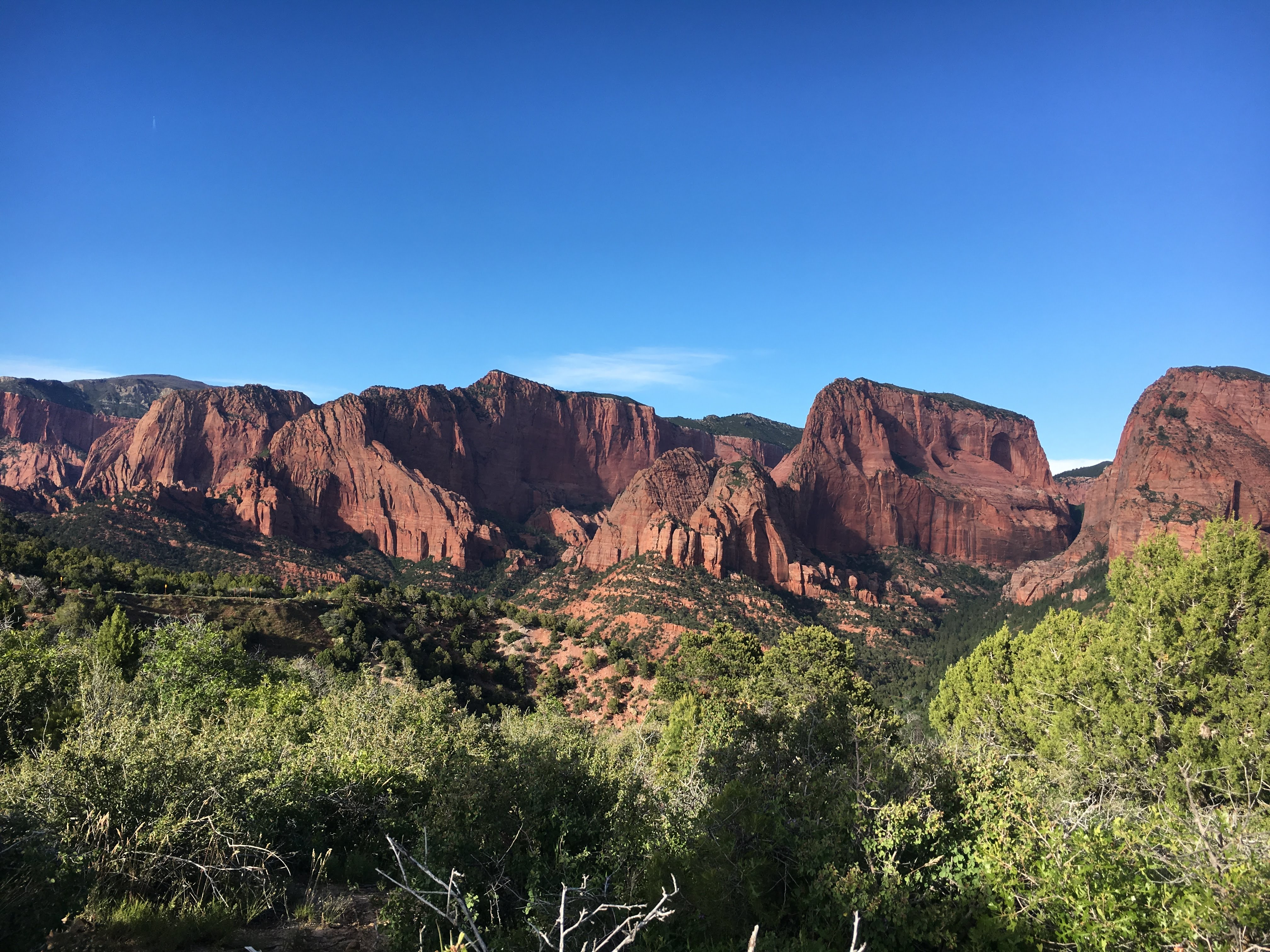 The northern less-traveled section of Zion — Kolob Canyons