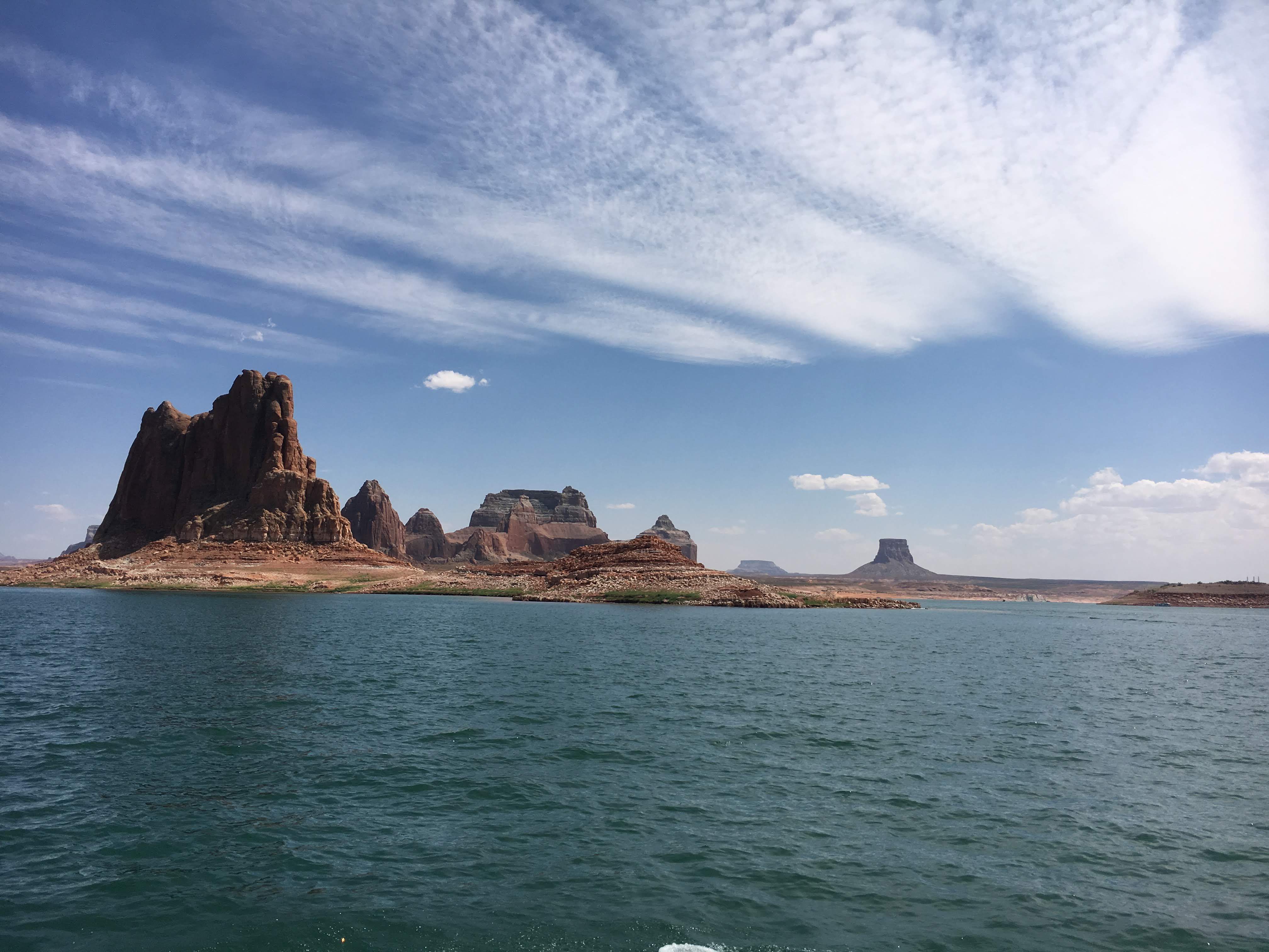 The tranquility of Lake Powell
