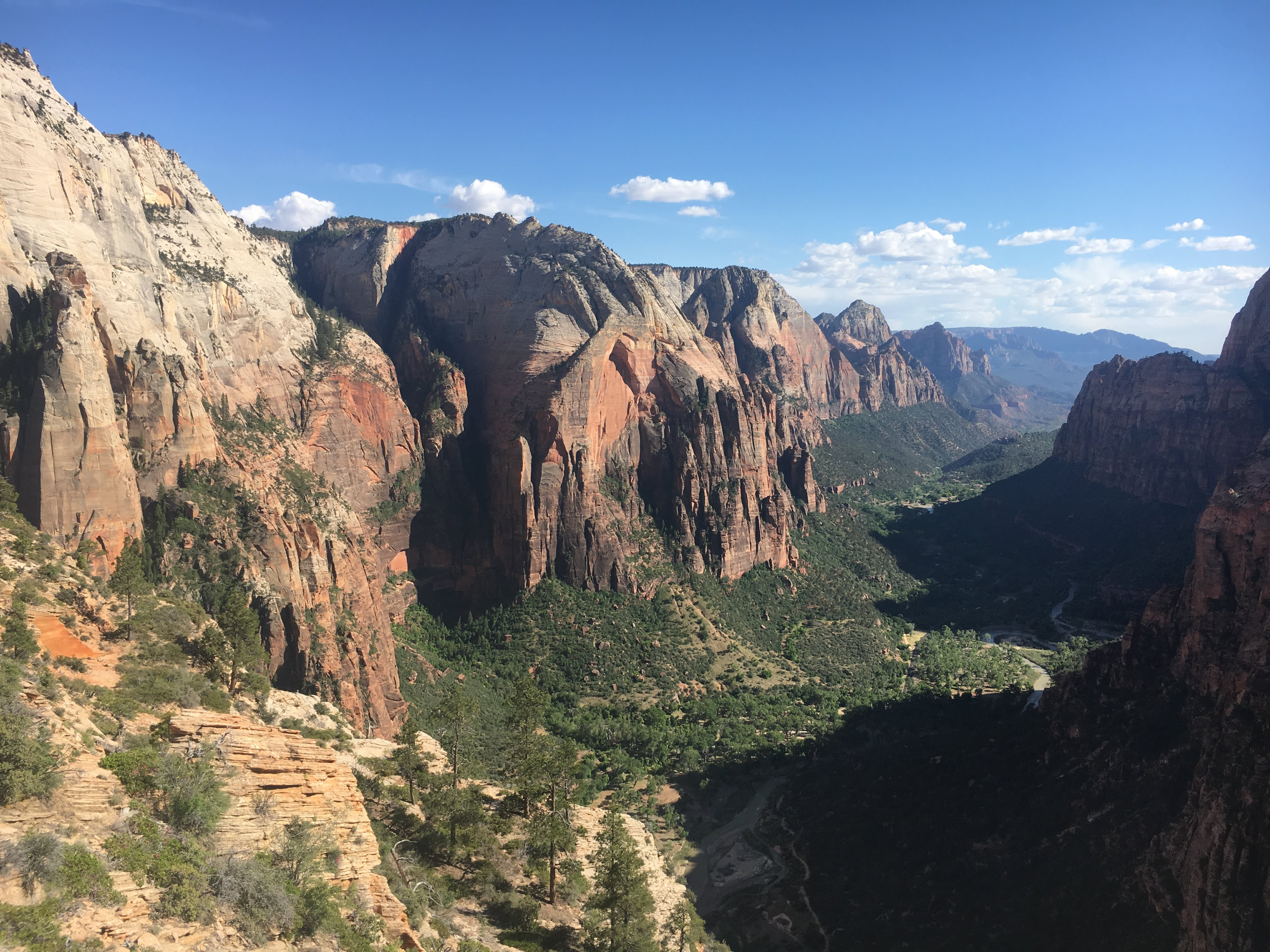 The main canyon of Zion