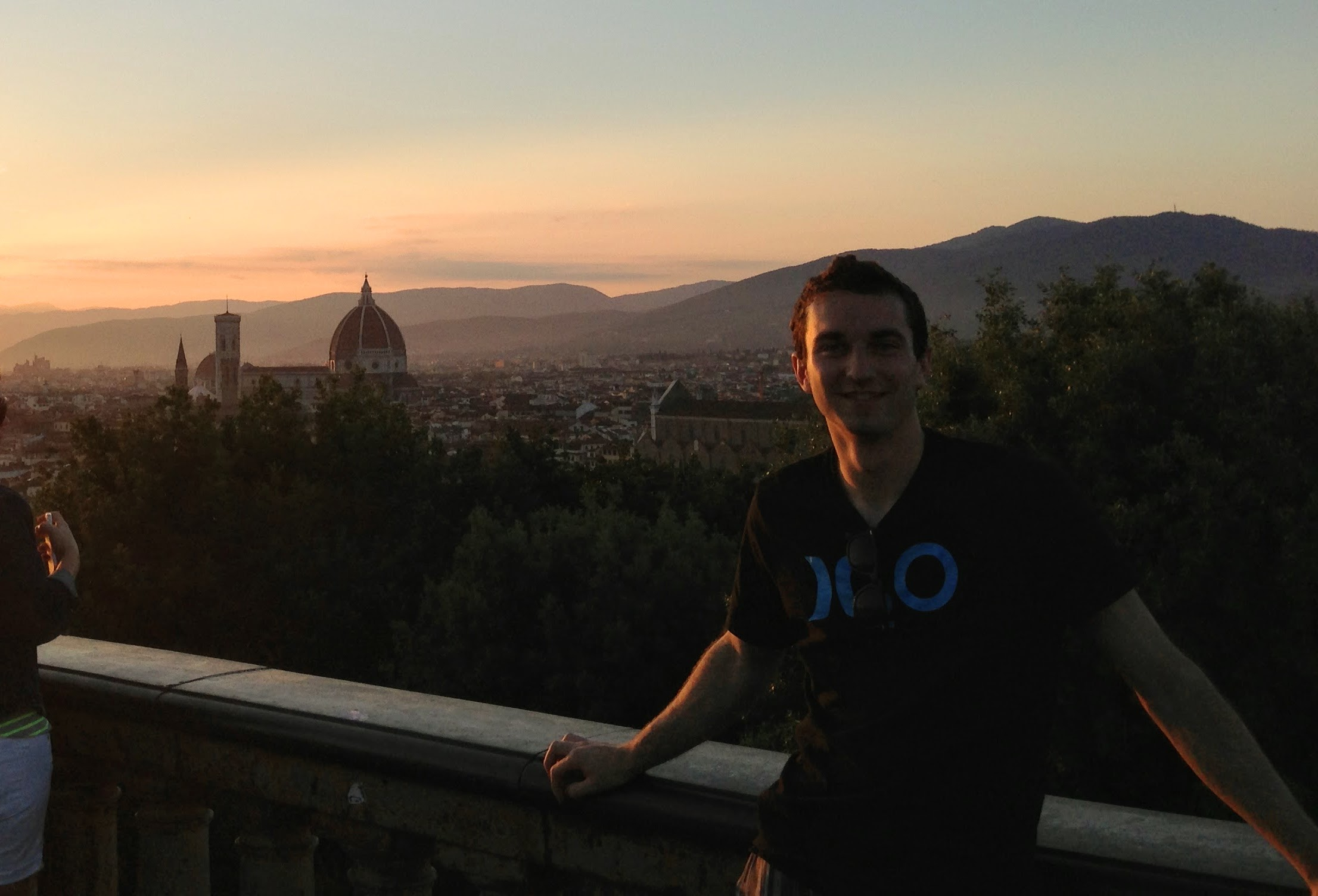 Zach in Florence, Italy - 2013