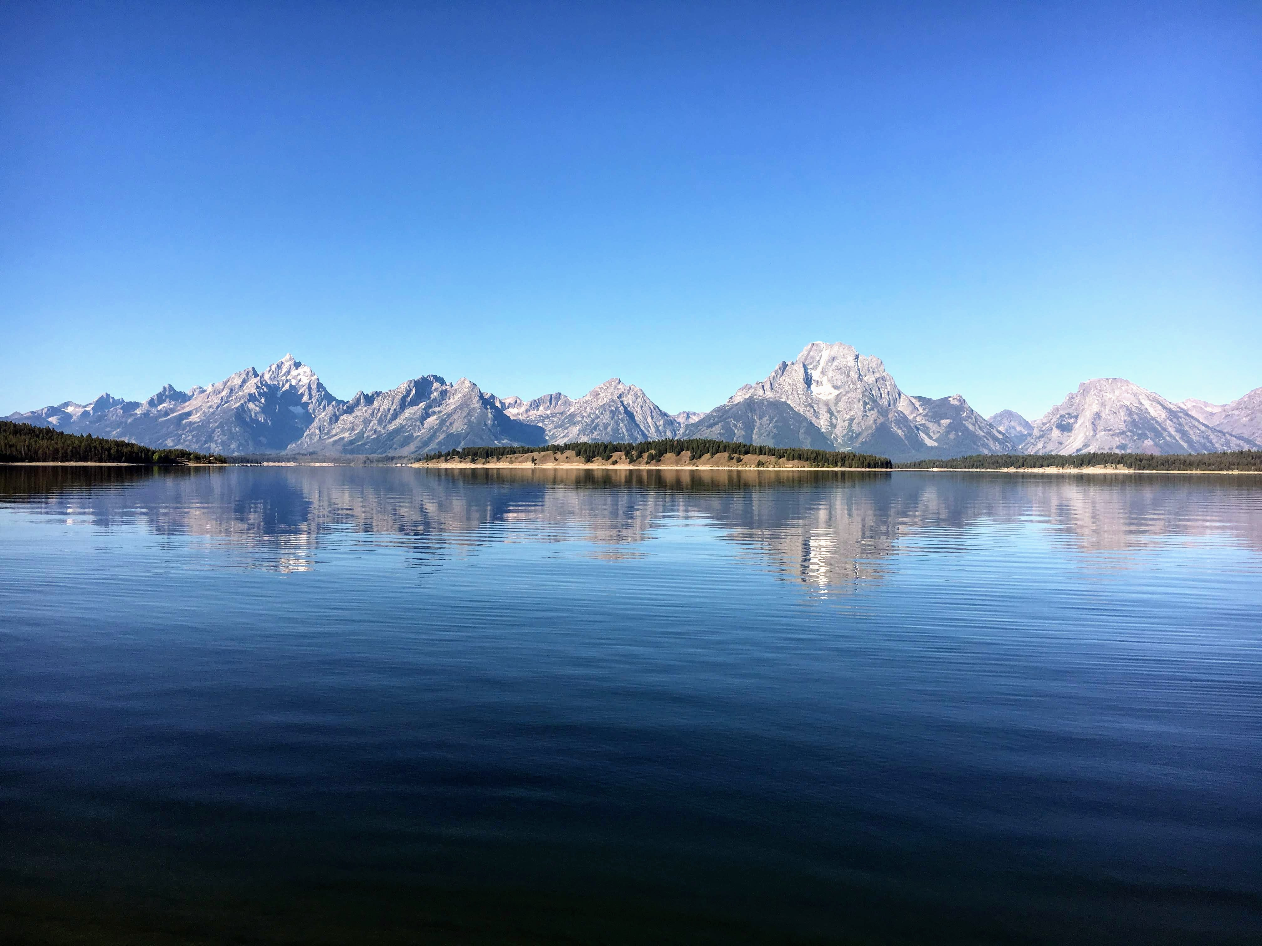 Grand Teton National Park — sadly I only drove through the park and didn't get to do much exploration but it was a stunning place and somewhere I want to go back to and properly explore.