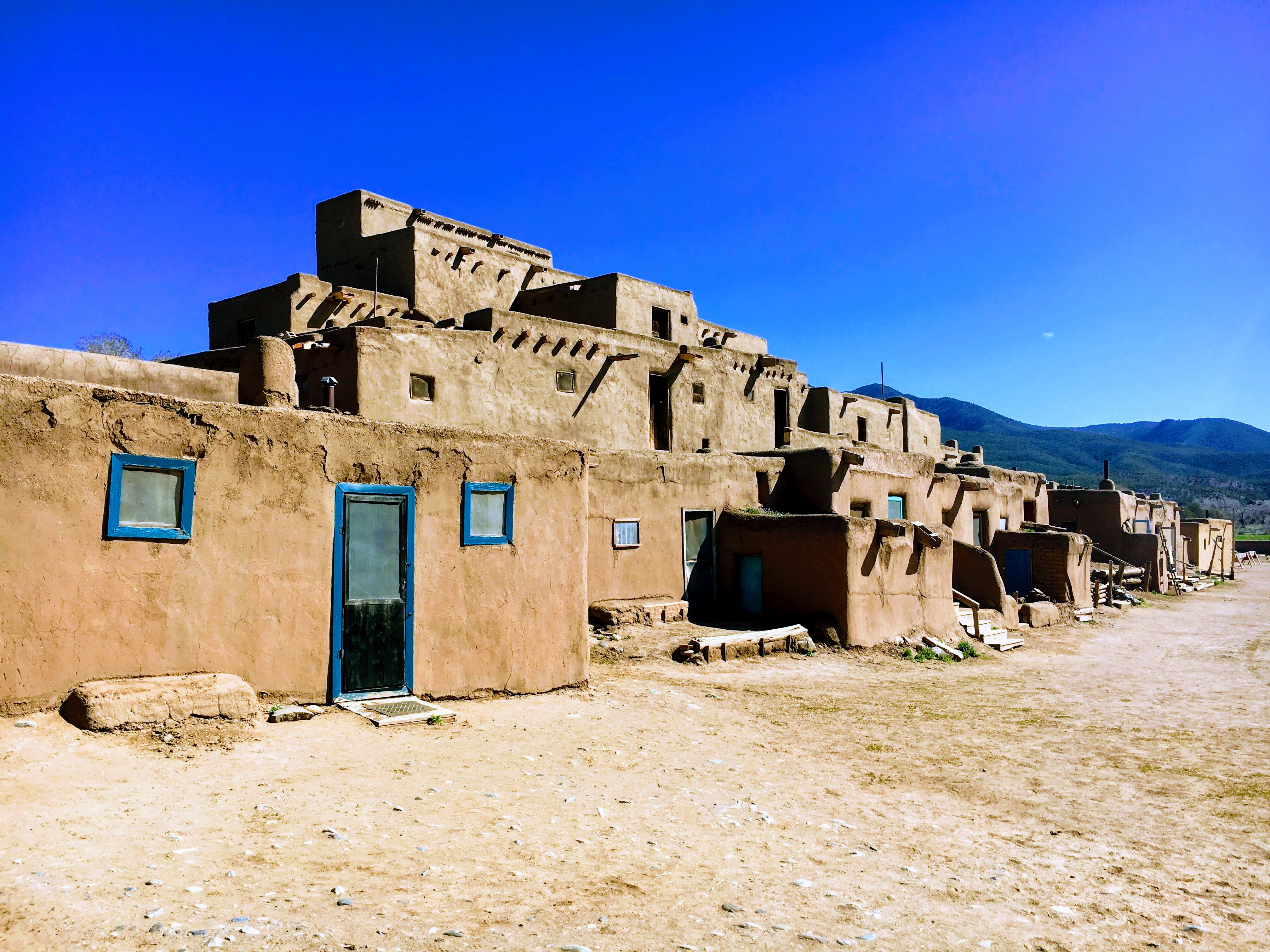 The Taos Pueblo, over 1000 years old